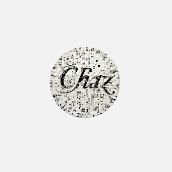Chaz, Matrix, Abstract Art Mini Button