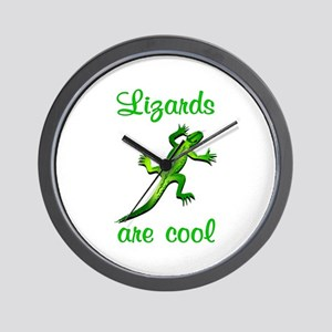 Lizards are Cool Wall Clock