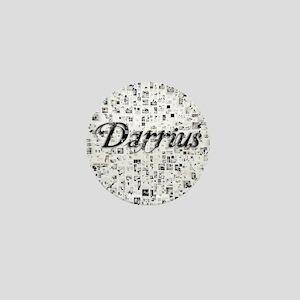 Darrius, Matrix, Abstract Art Mini Button