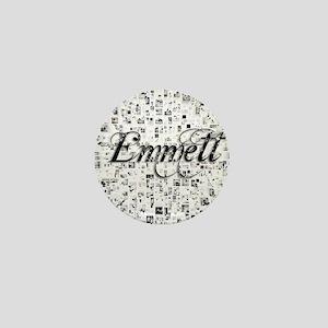 Emmett, Matrix, Abstract Art Mini Button