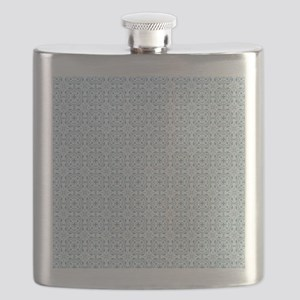 Amara Cornflower Shower curtain Flask