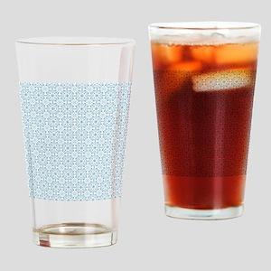 Amara Cornflower Shower curtain Drinking Glass