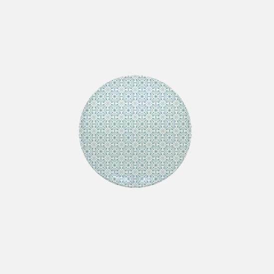 Amara Cornflower Shower curtain Mini Button