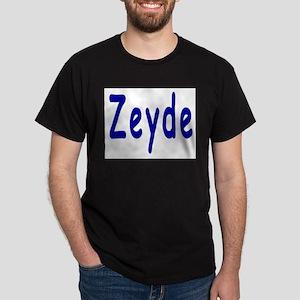 Yiddish Zeyde Dark T-Shirt