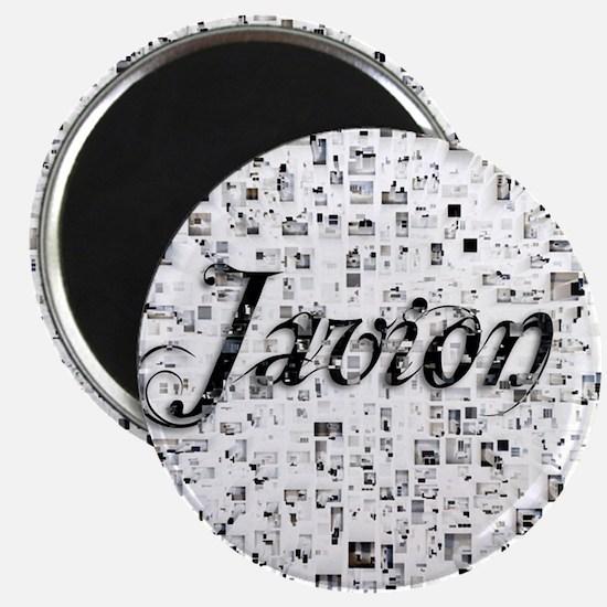 Javion, Matrix, Abstract Art Magnet