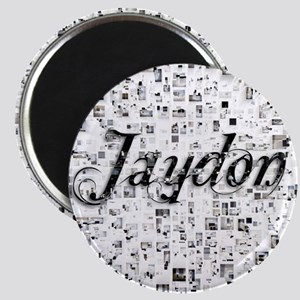 Jaydon, Matrix, Abstract Art Magnet