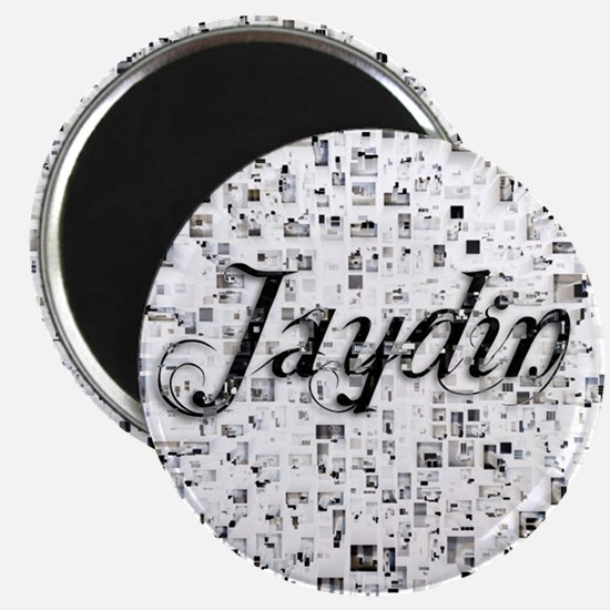 Jaydin, Matrix, Abstract Art Magnet