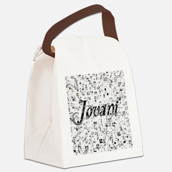 Jovani, Matrix, Abstract Art Canvas Lunch Bag