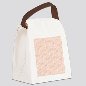 Amara Salmon Shower curtain Canvas Lunch Bag