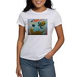Mermaid and Sea Turtle Women's T-Shirt