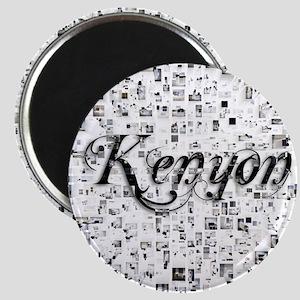 Kenyon, Matrix, Abstract Art Magnet