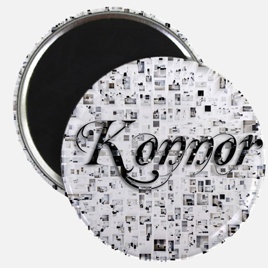 Konnor, Matrix, Abstract Art Magnet