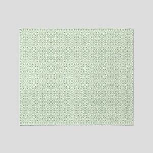 amara pistachio king duvet Throw Blanket