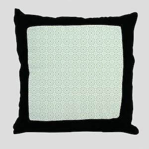 amara pistachio king duvet Throw Pillow