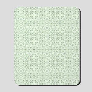 amara pistachio shower curtain Mousepad