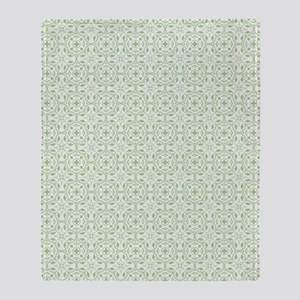 amara pistachio shower curtain Throw Blanket