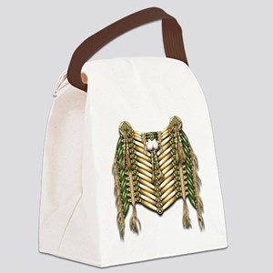 Native American Breastplate 5 Canvas Lunch Bag