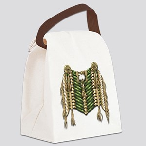 Native American Breastplate 6 Canvas Lunch Bag