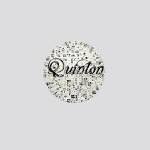 Quinton, Matrix, Abstract Art Mini Button
