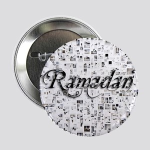 "Ramadan, Matrix, Abstract Art 2.25"" Button"