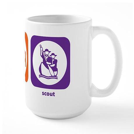 Eat Sleep Scout Large Mug