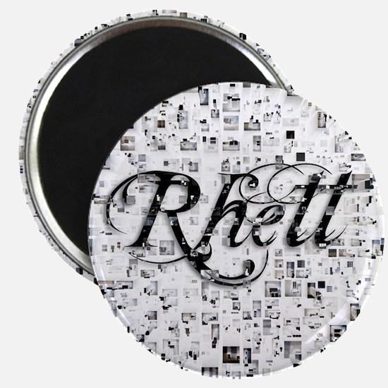 Rhett, Matrix, Abstract Art Magnet