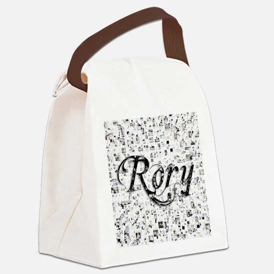 Rory, Matrix, Abstract Art Canvas Lunch Bag