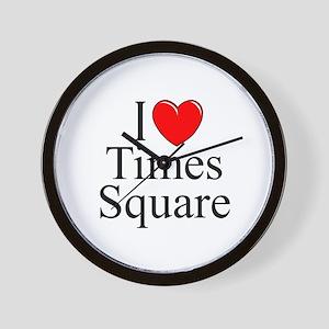 """I Love Times Square"" Wall Clock"