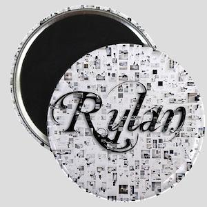 Rylan, Matrix, Abstract Art Magnet