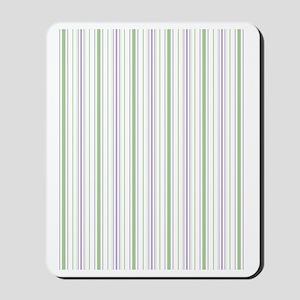 Lilac Stripe Duvet Twin Mousepad