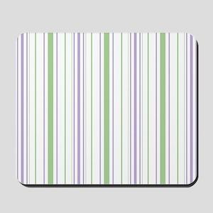 Lilac Stripe Blanket Mousepad