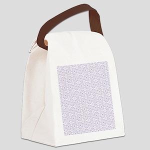 Amara lavender Shower curtain Canvas Lunch Bag