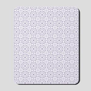 Amara lavender Shower curtain Mousepad