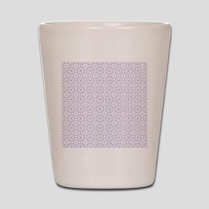 Amara lavender Shower curtain Shot Glass