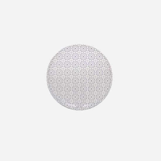 Amara lavender Shower curtain Mini Button