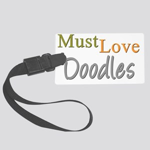 mustlovedoodles Large Luggage Tag