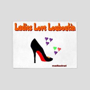 Ladies Love Louboutin 6000 5'x7'Area Rug