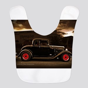 1932 black ford 5 window Bib