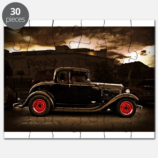1932 black ford 5 window Puzzle