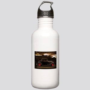 1932 black ford 5 window Water Bottle