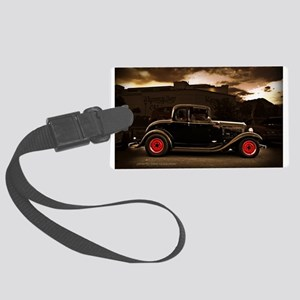 1932 black ford 5 window Luggage Tag