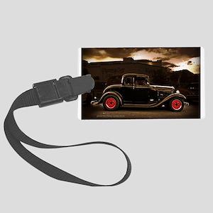 1932 black ford 5 window Luggage Tag
