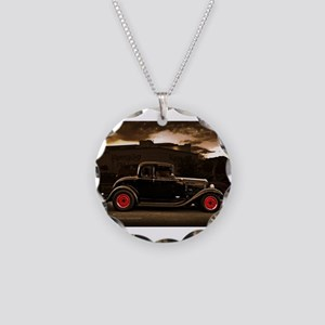 1932 black ford 5 window Necklace