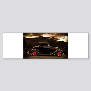 1932 black ford 5 window Bumper Sticker