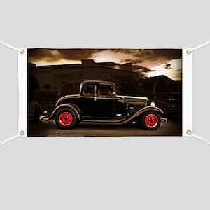 1932 black ford 5 window Banner