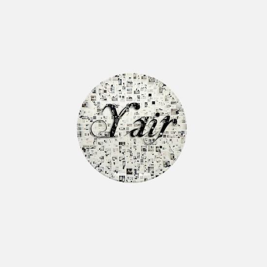 Yair, Matrix, Abstract Art Mini Button