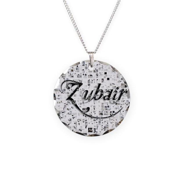 Zubair Matrix Abstract Art Necklace By Admin CP20569624
