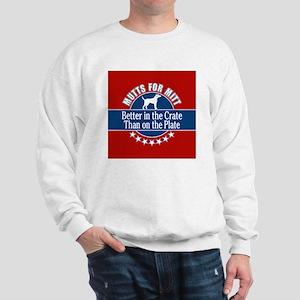 Mutts for Mitt Sweatshirt