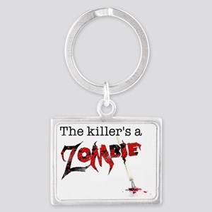 The killers a zombie Landscape Keychain
