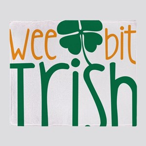 Wee Bit Irish Throw Blanket